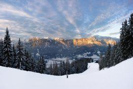 Les plus itinéraires de ski à la Rosière